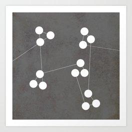 Numbers | 04 Art Print