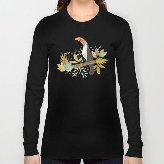 Forest Toucan  Long Sleeve T-shirt