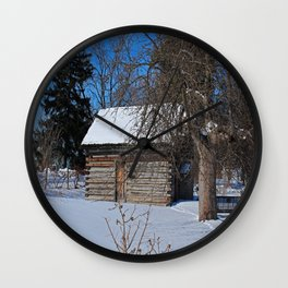 Peter Navarre Cabin II Wall Clock