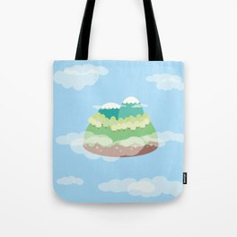 Mountains In The Sky Tote Bag