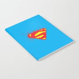 Square Heroes - man of steel Notebook