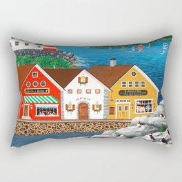 Puffin Point Rectangular Pillow