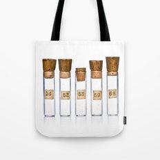 Lab Vials Tote Bag