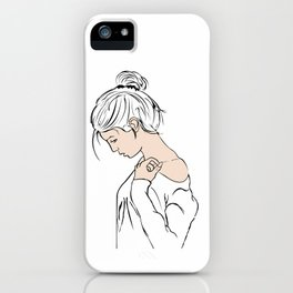 Sweater Weather iPhone Case