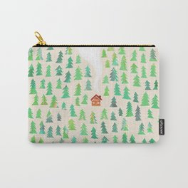 Alone in the woods Carry-All Pouch
