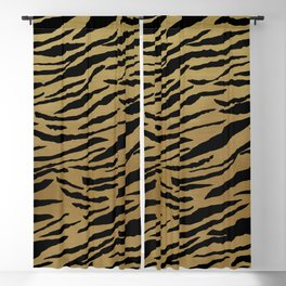 Tiger Animal Print Glam #1 #pattern #decor #art #society6 Blackout Curtain