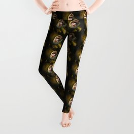 Portrait of Marquis de Mandrille Leggings