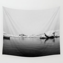 Iceland Black And White #society6 #home #decor Wall Tapestry