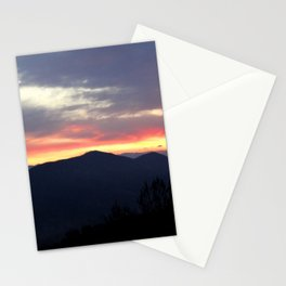 Sunrise over the Sierra Nevada Foothills Stationery Cards