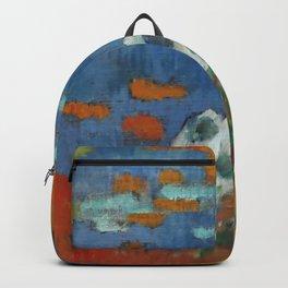 """Paul Gauguin """"Bretonne et oie au bord de l'eau"""" Backpack"""