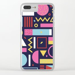 Composition three Clear iPhone Case