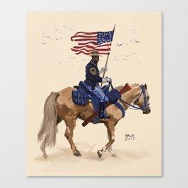 Buffalo Soldier Canvas Print