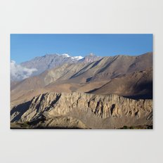 Scenery from Road to Jomsom Canvas Print