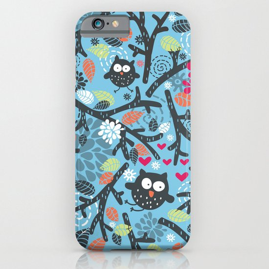 Owls. iPhone & iPod Case