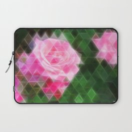 Pink Roses in Anzures 1 Art Triangles 2 Laptop Sleeve