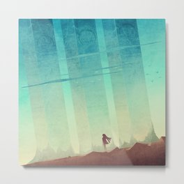 The Pillars Metal Print