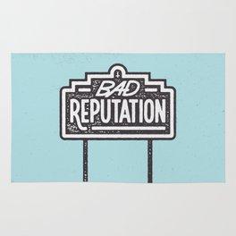 Bad Reputation Rug