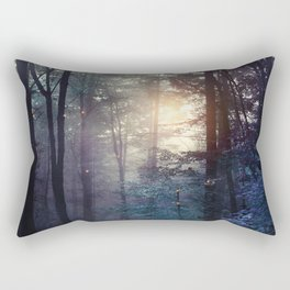 A walk in the forest Rectangular Pillow