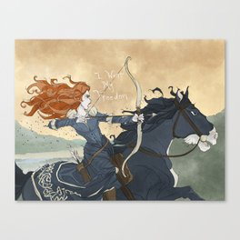 Brave Canvas Print