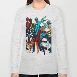 Dancing your own step Long Sleeve T-shirt