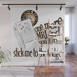 Stick me to the fridge Wall Mural