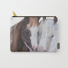 Horses Snuggling Carry-All Pouch