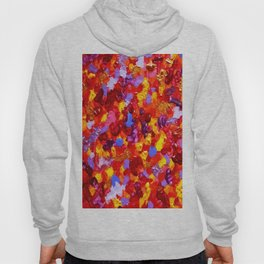 Abstract Red 002 Hoody