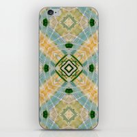 oasis iPhone & iPod Skins featuring Oasis by Natalié Art&Living