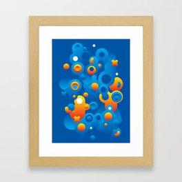 Cosmogony #05-02 Framed Art Print