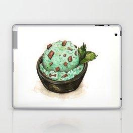 Mint Chocolate Chip Ice Cream Laptop & iPad Skin