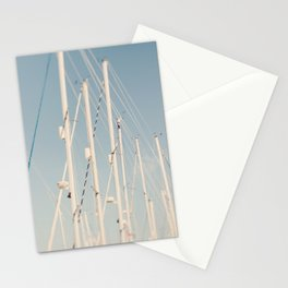 Sailing Masts #2 Stationery Cards