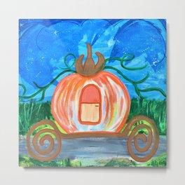 Mobile Pumpkin Shell Metal Print