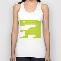 video game Tank Tops featuring Worst Video Game Ever by Silvio Ledbetter