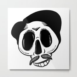 The Most Best Skull Metal Print