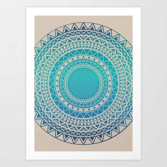 Secret writing Art Print