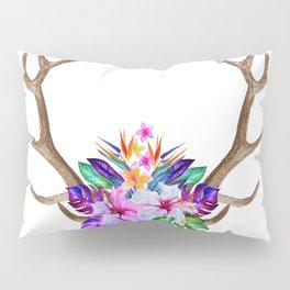 Floral Horn Pillow Sham