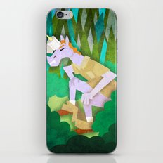 Emergency Toilet Paper Holder Unicorn iPhone Skin