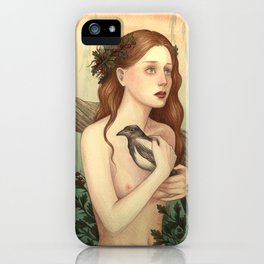 One for sorrow, two for joy iPhone Case