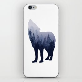 Wolf Forest iPhone Skin