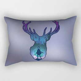 POTTER - PATRONUS ARTISTIC PAINT Rectangular Pillow