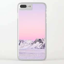 Morning in the Mountains-2 Clear iPhone Case