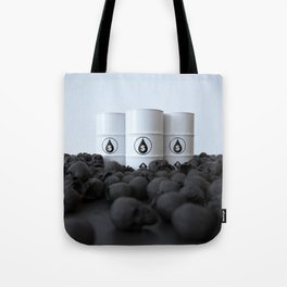 The price of oil Tote Bag