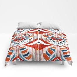 red bali ikat Comforters