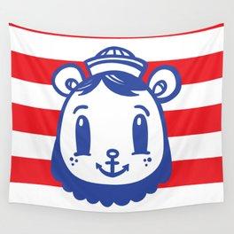 Sailor Bear Wall Tapestry