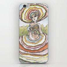 Empire of Mushrooms: Trametes versicolor iPhone & iPod Skin
