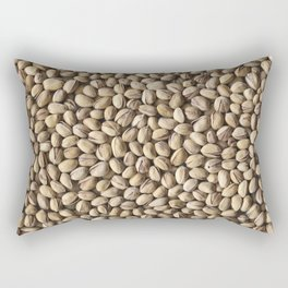 Pistachio. Background. Rectangular Pillow