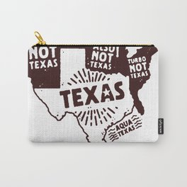 UNITED STATES OF TEXAS T-SHIRT Carry-All Pouch