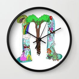 M is for Marlee Wall Clock