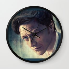 The Coffee Stain - James McAvoy Wall Clock