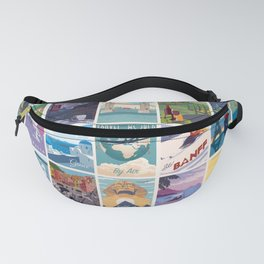 Travel the World Fanny Pack